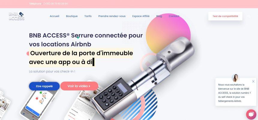 Bnb Access serrure autonome airbnb