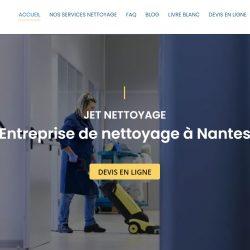 Jet nettoyage société de nettoyage à Nantes